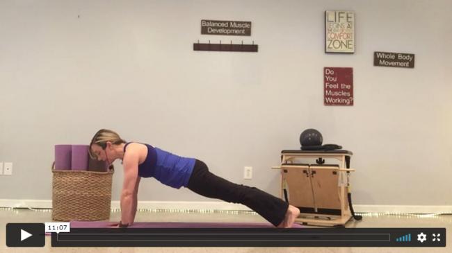 10-Minute Pilates Plank