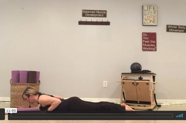 10-Minute Posture Corrector Pilates