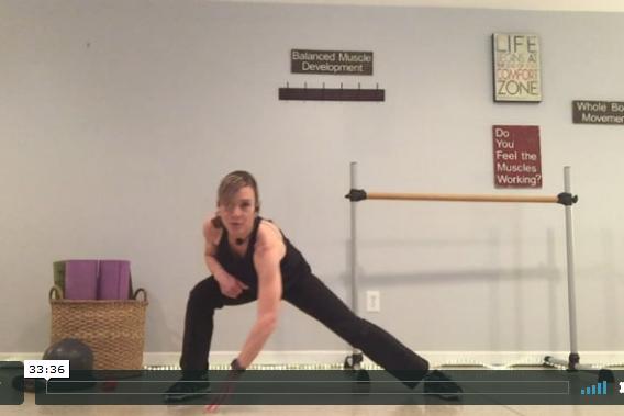 BARRE - Legs Workout
