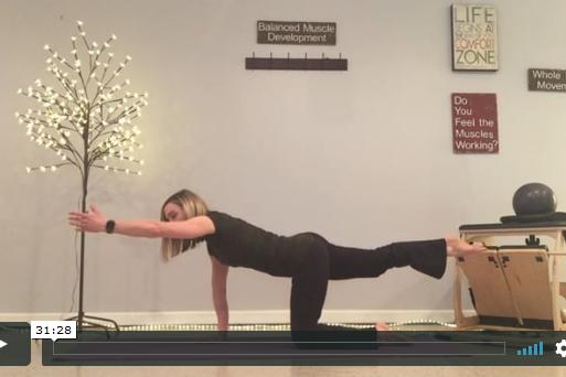 Pilates the Bulging Disc - 30-minute workout